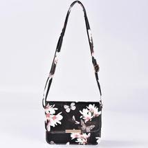 Women Floral Shoulder Bag Small Messenger Bag Retro Butterfly Clutch Tote Purse image 5