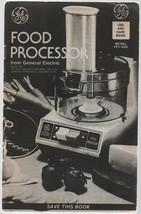 Food Processor - General Electric - Use & Care Book - Model FP1 / 4200. - $1.37