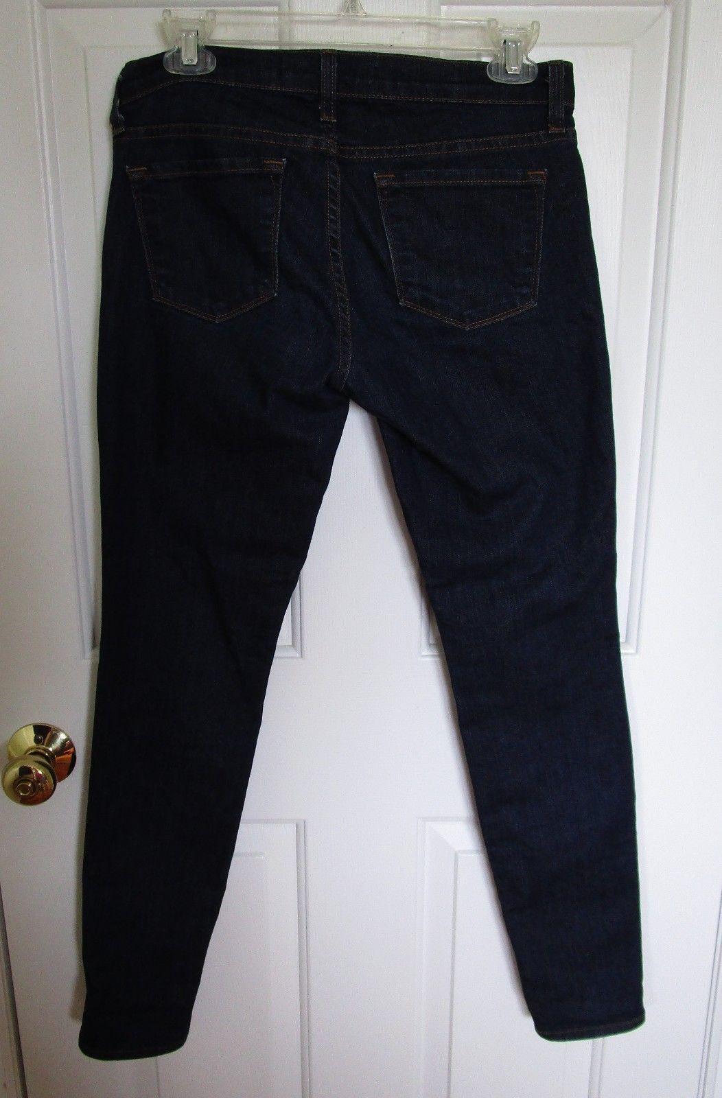 "J BRAND Women's Dark Denim Skinny Leg ""Pure"" 5 Pocket Jean Size 27 image 3"