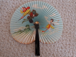 Hand Held Fan that was made in CHINA. (#0936)  - $4.99