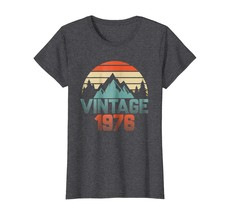 Brother Shirts - Vintage 1976 Shirt 42nd Birthday Gifts 42 Years Old Awe... - $19.95+