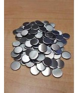 """JumpingBolt 16 Gauge 3/4"""" Stainless Steel #4 Discs Lot of 10 Material Ma... - $47.96"""