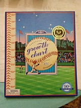 Child Hanging Growth Chart by eeBoo with Baseball Theme - New in Box - $25.95