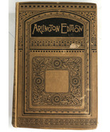 ADAM BEDE Arlington Edition by George Eliot 1889 bought from W.P. Treadwell - $140.24