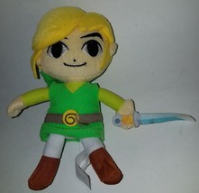 "Link Legend of Zelda Plush 7.5"" Stuffed Animal Toy World of Nintendo Vid... - $13.31"