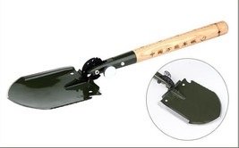 Original Chinese Military Shovel Survival Tool WJQ-308 with Waterproof C... - $102.37 CAD