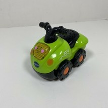 Vtech Go Go Smart Wheels Green ATV Motorcycle Car Vehicle Lights and Sounds - $17.77