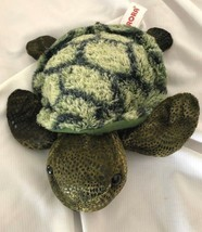 "Used 7"" Aurora Green Turtle, Sea, Reptile, Stuffed/Plush - $6.92"