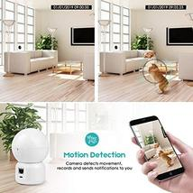 OMMC Wireless Security Camera 1080P, Baby Monitor Home IP Camera with Night Visi image 2