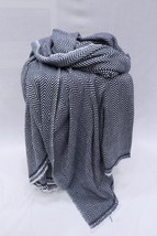 Baby Alpaca Blanket Throw, Cashmere Winter Blanket, Indian Blanket Shawl... - $87.35