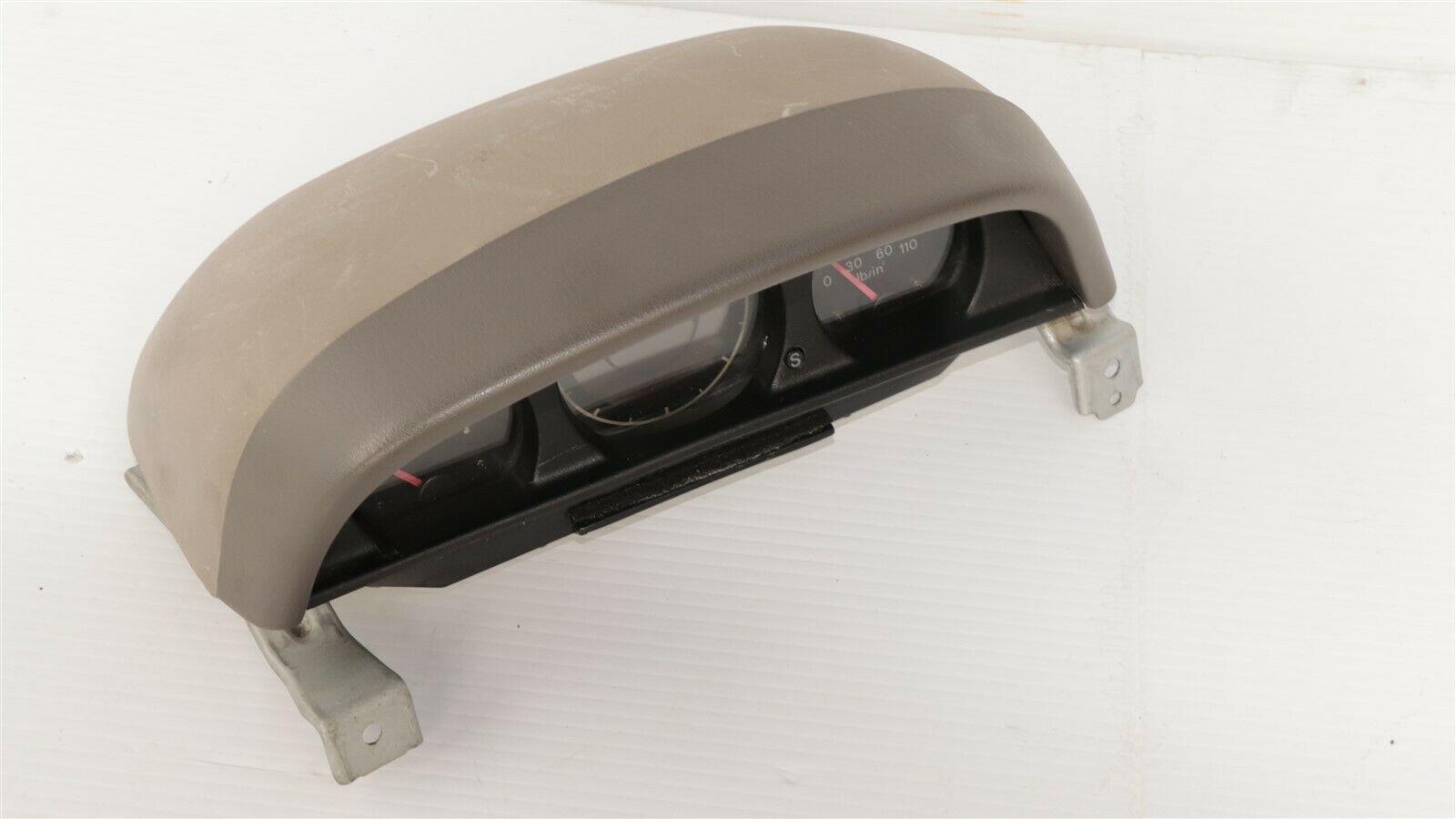 96-99 Montero Sport Voltage Temp Compass Oil Pressure Aux Dash Gauge W/Bracket