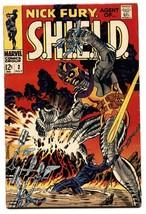 NICK FURY, AGENT OF SHIELD #2 comic book 1968-Marvel-Steranko FN - $38.80