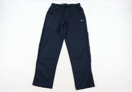 Vtg 90s Nike Herren Groß Travis Scott Klein Swoosh Logo Gestreift Jeans ... - $39.99