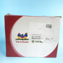 "ViewSonic VX2252mh 22"" 2ms 60Hz 1080P Monitor Full HD LED Display #NO4218 - $88.07"