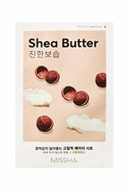 Missha Airy Fit Sheet Mask Shea Butter - Deep Moisture 7 pcs - $11.48