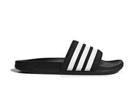 Adidas Adilette Slides Sandals Black White AP9966 Women's Size 10 New Wi... - $34.20