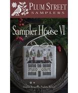 Sampler House VI cross stitch chart Plum Street Samplers  - $10.80