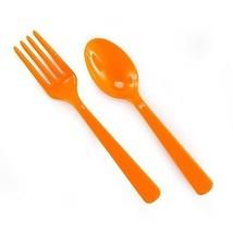 Forks & Spoons - Orange (8 each) - $5.71