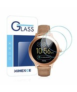 Mihence Compatible Fossil Q VentureGen 3 Screen Protector, 2.5D Rounded... - $6.27