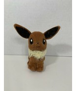 Pokemon Eevee small plush brown tan plush beanie stuffed animal 1998 Nin... - $6.92