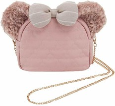 Tokyo DisneySea Limited 2019 Shelly Mei Ear Shoulder Bag Pochette Winter... - $103.95
