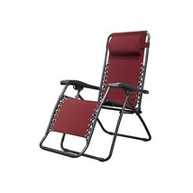 Caravan Sports Infinity Zero Gravity Chair, Burgundy 1-Pack - $55.95