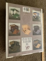 THE BIRD HOUSE BOOK AND KIT How To Build Fanciful Wood Birdhouses And Fe... - $88.11