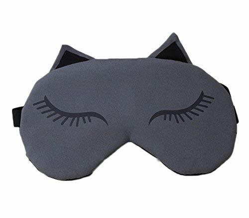 Primary image for Cartoon Design Eye Mask for Mask for Sleeping Airplane Travel Shift Work, 21