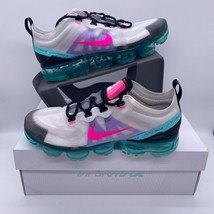 Nike Air Vapormax 2019 South Beach Platinum Pink Teal Women's Sizes AR66... - $150.00