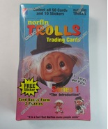 Box of 1992 Norfin Trolls Series 1 Trading Cards - Factory Sealed - $9.99