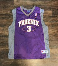 Stephon Marbury #3 Phoenix Suns Champion NBA Jersey 40 SIZE Medium Vintage - $44.54