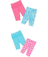 Gerber Infant Girls 2 Pack Pants 2 Choices Size... - $6.39