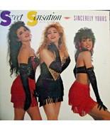 "Sweet Sensation-Sincerely Yours-LP-1988-NM/EX  12"" Single - $9.90"