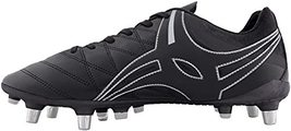 Gilbert Kaizen 1.0 Power Rugby Boots (12 D (M) US) Black image 2