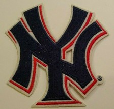 """New York Yankees Ny Embroidered PATCH~4"""" X 4""""~Iron On~Mlb~Free Us Mail - $4.75"""