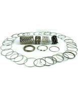 Lot of 30 Metal Bangle Silver Tone Bracelets Plus Extras - $18.67