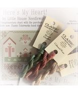 Here's My Heart 3 FLOSS + FREE CHART Classic Co... - $6.45