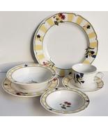 Beautiful (1) 6 Pc. Homecraft by Noritake Summer Estate 9212 Dinnerware ... - $79.99