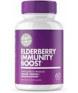 60 Caps ELDERBERRY Zinc Vitamin C Echinacea Immune Support Booster All A... - $21.99