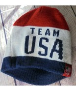 Olympics Winter Team USA Beanie American Team Colors Winter Knit Cap one... - $18.76