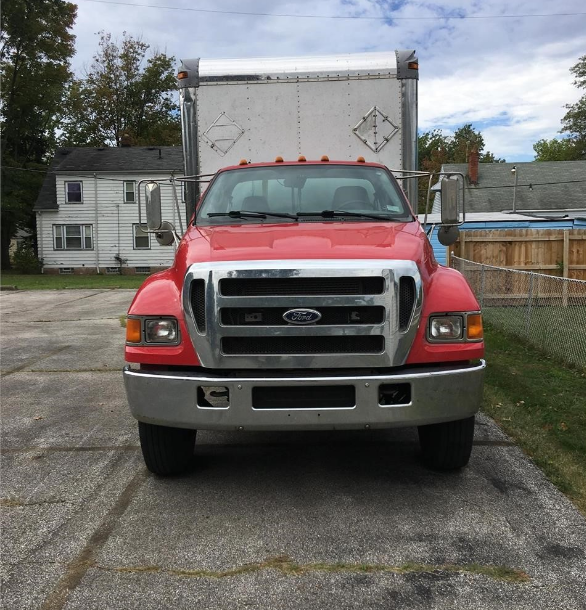 2005 FORD F750 SD For Sale In Cleveland, Ohio 44122