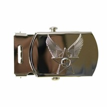 "Genuine U.S. Air Force Belt Buckle: 1"" General Officers With Hap Arnold Emblem - $26.71"