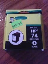 New Inkjet Cartridges For Dummies Replaces Hp 74 (CB335WN) Black Free Ship - $10.88
