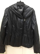 Guess Jeans Black Quilted Puffer Women's Jacket Coat Winter Zipper Puffy... - $35.96