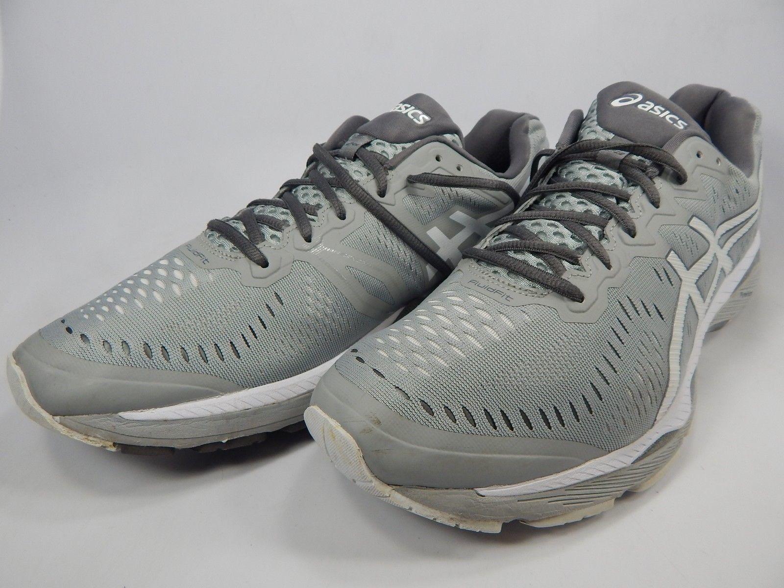 Asics Gel Kayano 23 Size US 14 M (D) EU 49 Men's Running Shoes Gray White T646N