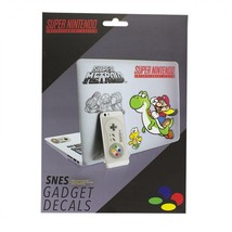 Super Nintendo SNES Pack of 24 Removable Waterproof Gadget Stickers Deca... - $9.74