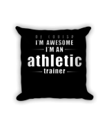 Training pillow - Square Pillow Case w/ stuffing - $23.00