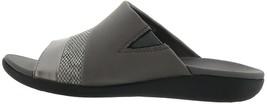 Cloudsteppers™ Clarks Brio Surf Wedge Slide Pewter Metallic 7M New 685-342 - $64.33
