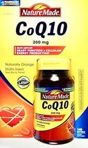 Nature Made Coq10 200 Mg, Naturally Orange, Value Size,140 Count Softgels - $52.82