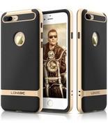 IPhone 7 Plus Case Carbon Fiber, LOHASIC Pretective Armor [Heavy Duty] ... - $12.23